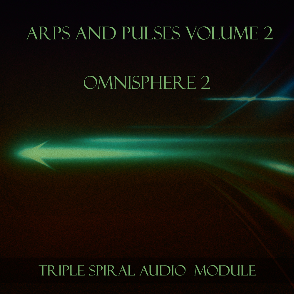 ARPs and Pulses Volume 2 Module - Omnisphere 2 soundset